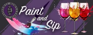 Paint & Sip with DJRD!